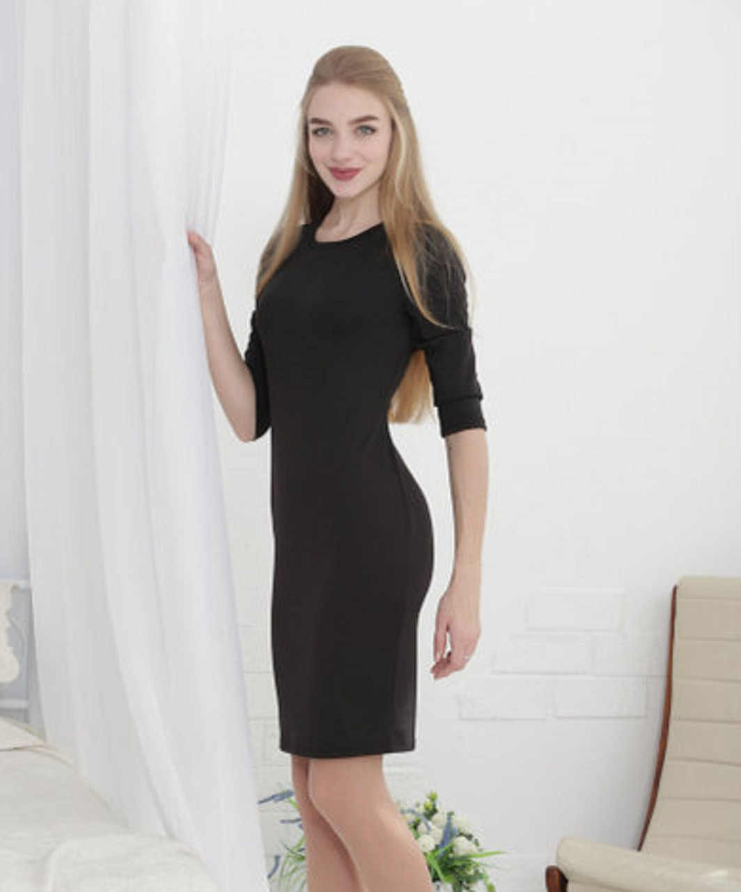 c758a8791f6 Элегантное приталенное платье для самых стильных девушек