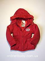 Зимняя детская куртка Disney на девочку 10 лет