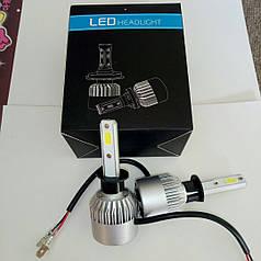Светодиодная лампа H1 40 Вт (цена указана за 1 штуку 20 Вт) 8000LM 6500K LED HEADLIGHT