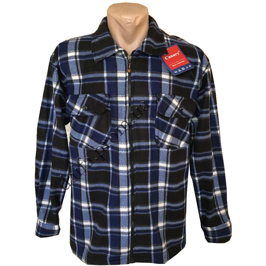 4940f4789a03 Мужские теплые рубашки на змейке SLR231k НОРМА оптом недорого со склада в  Одессе (7км)