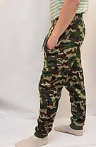 Брюки мужские зимние камуфляжные - под манжет, фото 2