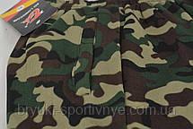 Брюки мужские зимние камуфляжные - под манжет, фото 3