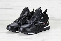 Кроссовки мужские Reebok GL6000 High Black топ реплика