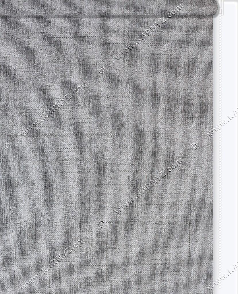 Рулонные шторы DIY Лен Люкс серый дымчатый