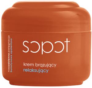Sopot. Крем-бронзатор расслабляющий