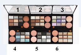 Chanel Les Ombres - набор тени для век + румяна