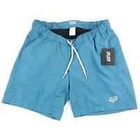 Вело шорты женские Fox Girls Base Short Голубой, S