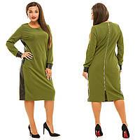 Платье женское большие размеры (цвета) АНД5035, фото 1