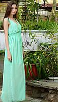 Красивое летнее платье в пол, фото 1