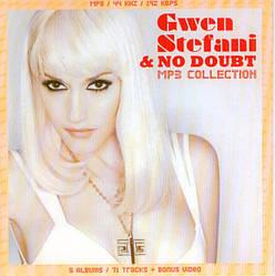 MP3 диск. Gwen Stefani & No Doubt - MP3 Collection