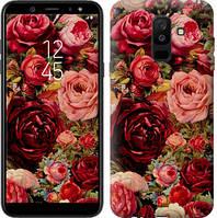 """Чехол на Samsung Galaxy A6 Plus 2018 Цветущие розы """"2701c-1495-15158"""""""