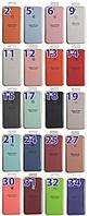 Накладка Silicone Case orig iPhone 5 ( 21 бирюзовый )