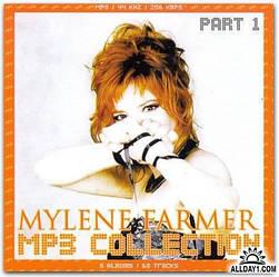 MP3 диск MP3 collection. Mylene Farmer - Part 1