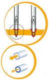 Инсулиновые иглы для шприц-ручек 4mm,32G-0,23mm, фото 5