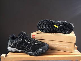 Кроссовки мужские The North Face.черные,замша-текстиль , фото 2