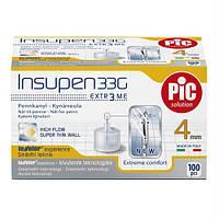 Инсулиновые иглы для шприц-ручек 4mm,33G-0,20mm, фото 1