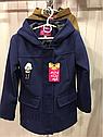 Демисезонное кашемировое детское пальто Hello на девочку размеры 32- 38, фото 5