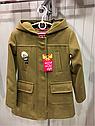 Демисезонное кашемировое детское пальто Hello на девочку размеры 32- 38, фото 7
