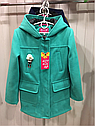 Демисезонное кашемировое детское пальто Hello на девочку размеры 32- 38, фото 6