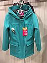 Демисезонное кашемировое детское пальто Hello на девочку размеры 32- 38, фото 3