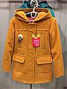 Демисезонное кашемировое детское пальто Hello на девочку размеры 32- 38, фото 8