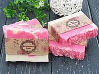 Натуральное мыло ручной работы с шелком