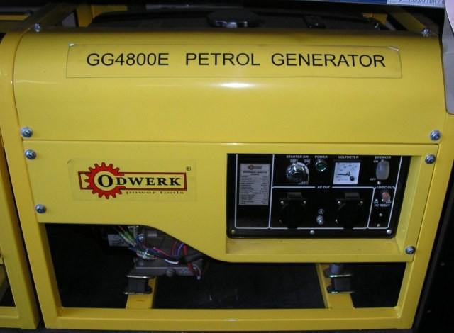 Бензогенератор Odwerk GG4800E Pro 3,4 (4,0) кВт