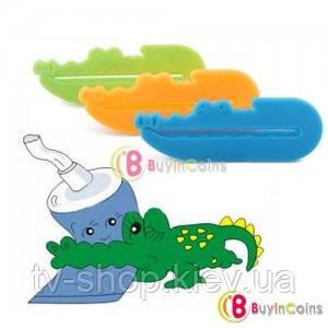 Выдавливатель тюбика Крокодильчики (3 шт)