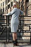 """Теплое платье """"Вишня"""", фото 2"""