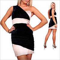 Оригинальное платье с ассиметричным верхом