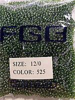 Бисер калеброванный  № 525  (50гр)