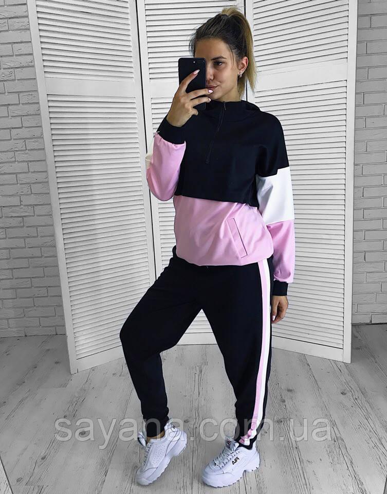 Женский спортивный костюм в расцветках. СП-4-0918
