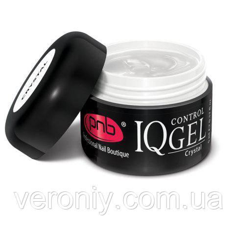 Гель PNB IQ Control Gel Crystal, 15 мл (прозрачный)