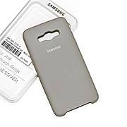 Силиконовый чехол на Samsung J5 510 (2016) Soft-touch Gray