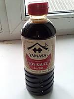 Соевый соус Ямаса YAMASA, натурального брожения, 500мл ОРИГИНАЛ , Япония