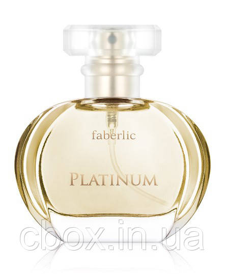 Парфумерна вода жіноча Platinum, Faberlic, Платинум, Фаберлік, 3026, 30 мл