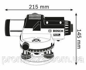Оптичний нівелір Bosch GOL 26 D, фото 2