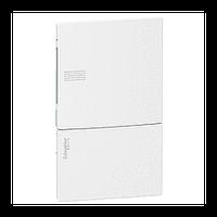 Щит Schneider-Electric Mini Pragma 4 модуля встраив. белая дверь IP40 MIP22104