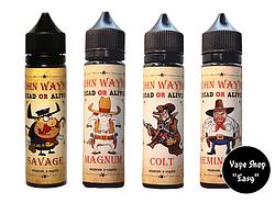 John Wayne Премиум жидкость для электронной сигареты, вейпа (табачка) 60 ml.
