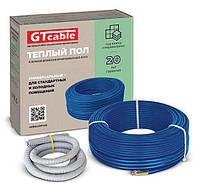 Нагревательный двухжильный кабель GTcable/GT 38785511, 1300 Вт-73,0м