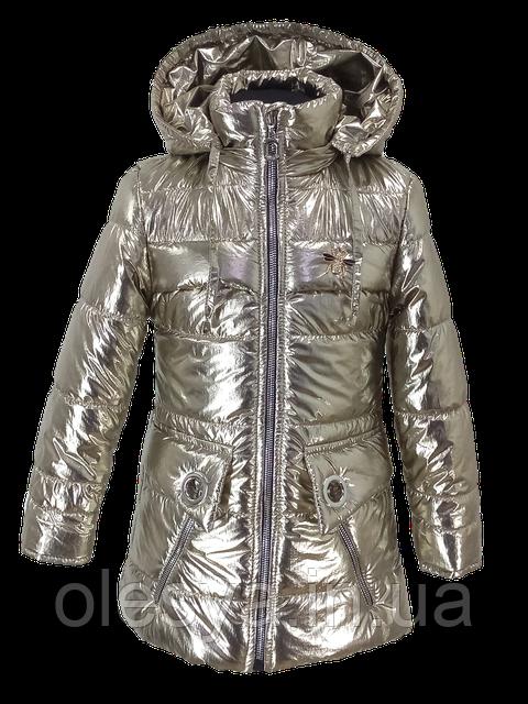 Куртка демисезонная на девочку Сова Размеры 24- 32