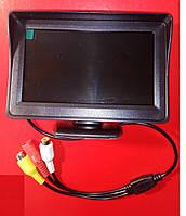 Монитор  4.3 дюйма  для камер видеонаблюдения