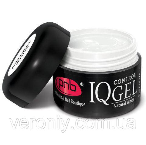 Гель PNB IQ Control Gel Natural White , 15 мл (белый)
