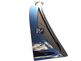 """Дефлектор заднего стекла """"SIM"""" Nissan Qashqai (2007-2010) (темный) - Задний козырек Ниссан Кашкай"""