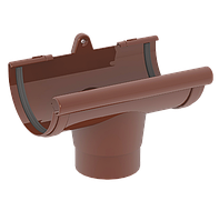 Воронка ринви 120/85 мм коричнева