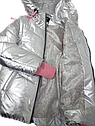 Куртка - жилет демисезонная на девочку Размеры 34 38, фото 4
