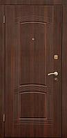 """Двери """"Портала"""" - серия Стандарт - модель ПАССАЖ - темный орех ВИНОРИТ (Улица)"""