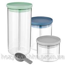 Набор стеклянных контейнеров Berghoff LEO, 3 шт. 3950125.