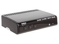 Цифровой телевизионный DVB-T2 ресивер BBK SMP021HDT2 черный, фото 1