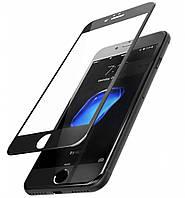 Защитное стекло 10D для iPhone 6/6s Plus black